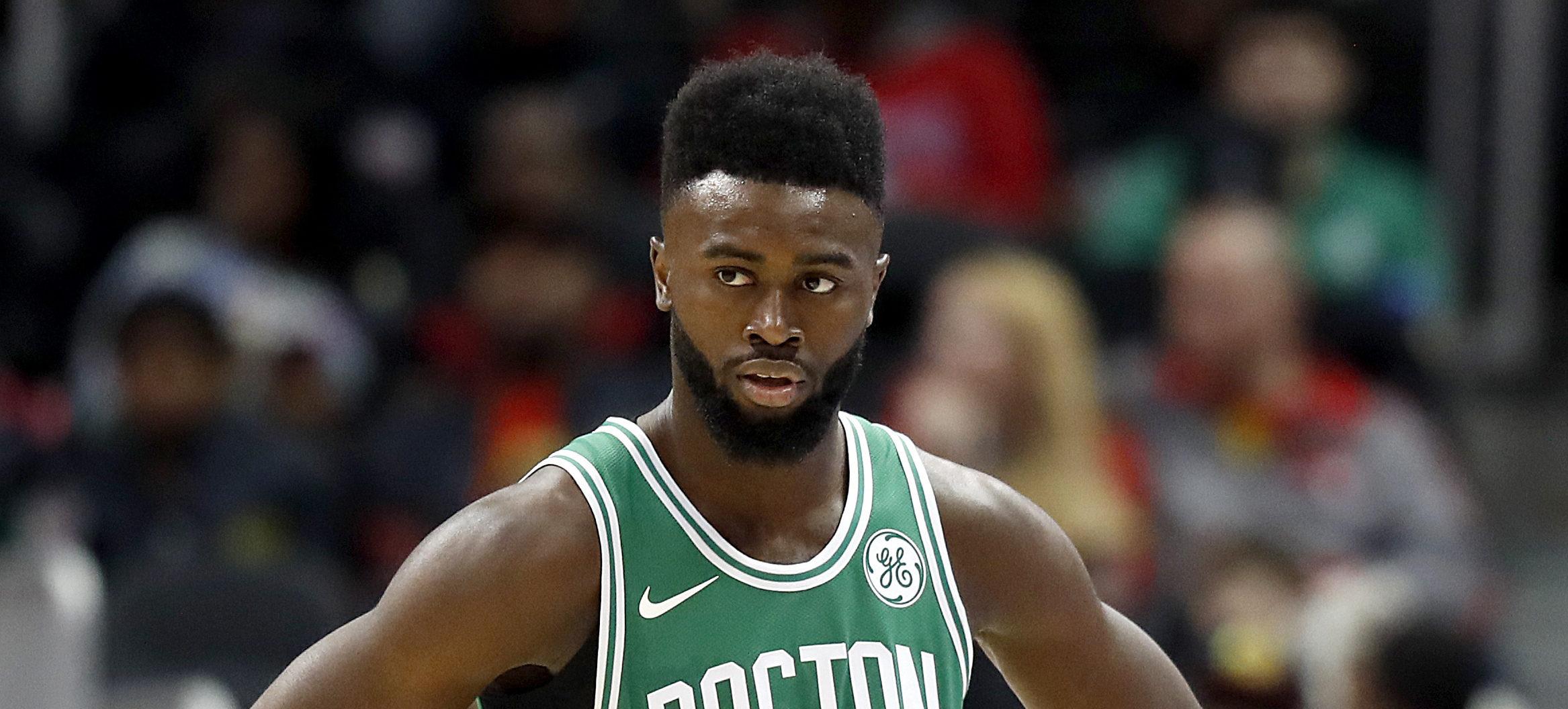 Jaylen Brown sous le maillot des Celtics