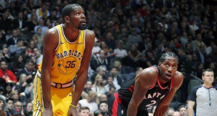 Après la défaite des Warriors face aux Raptors cette nuit, Kevin Durant s'est enflammé sur le statut de la franchise de Toronto
