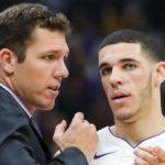 NBA – La réaction désespérée de Luke Walton au raté de Lonzo Ball