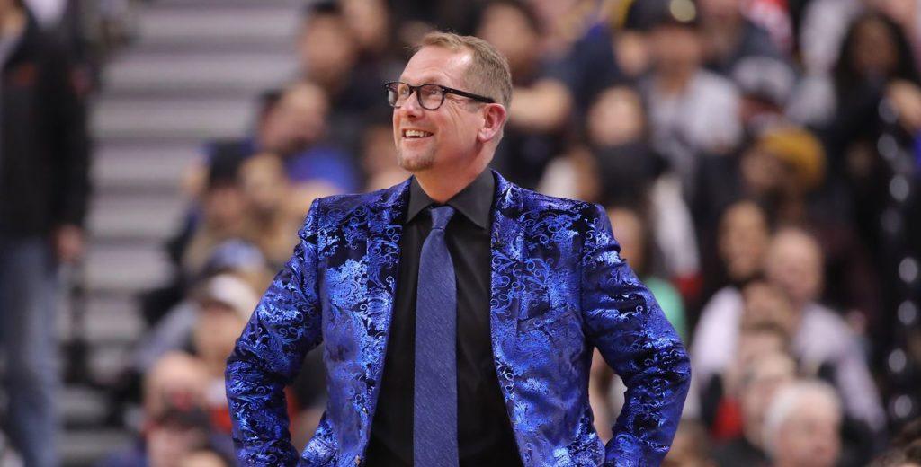 La superbe série des Raptors en ce début de saison n'est pas anodine, Nick Nurse et nommé coach du mois de la conférence Est