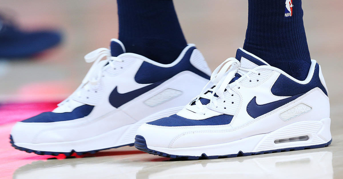 cute cheap outlet store picked up NBA - Pourquoi Thabo Sefolosha joue-t-il en Air Max 90 ?