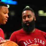 NBA – Westbrook et Harden, rois des «mauvais» quadruple-doubles