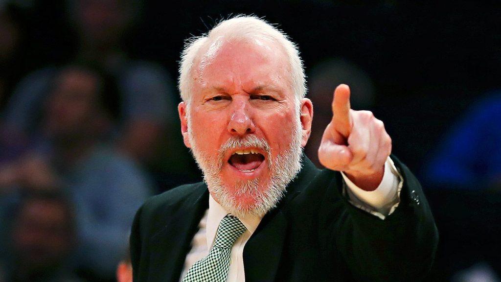 Malgré la victoire des Spurs hier soir, Gregg Popovich ne s'est pas montré tendre avec son équipe