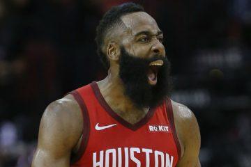 James Harden sous le maillot des Rockets