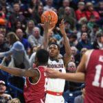NCAA – Les Français de la nuit : Gonzaga et Joel Ayayi terminent l'année proprement