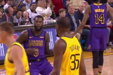 Le banc des Lakers a volé la célébration air guitar de Lance Stephenson hier soir contre les Suns