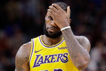 LeBron James dépité par ses Lakers