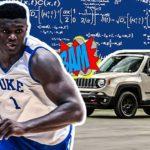 NBA – La science prouve la puissance surhumaine de Zion Williamson