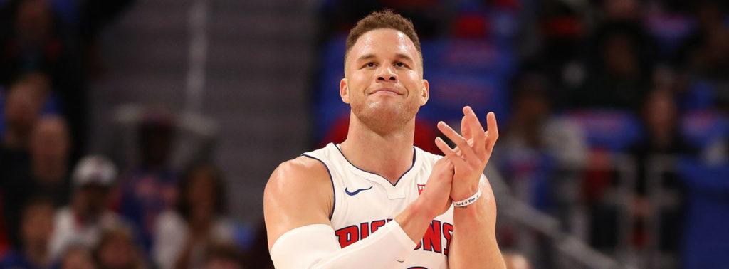 Blake Griffin s'exprime sur les Pistons