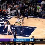 NBA – Derrick Rose offre la victoire à Minnesota avec un game winner !