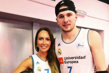 Luka Doncic et sa mère