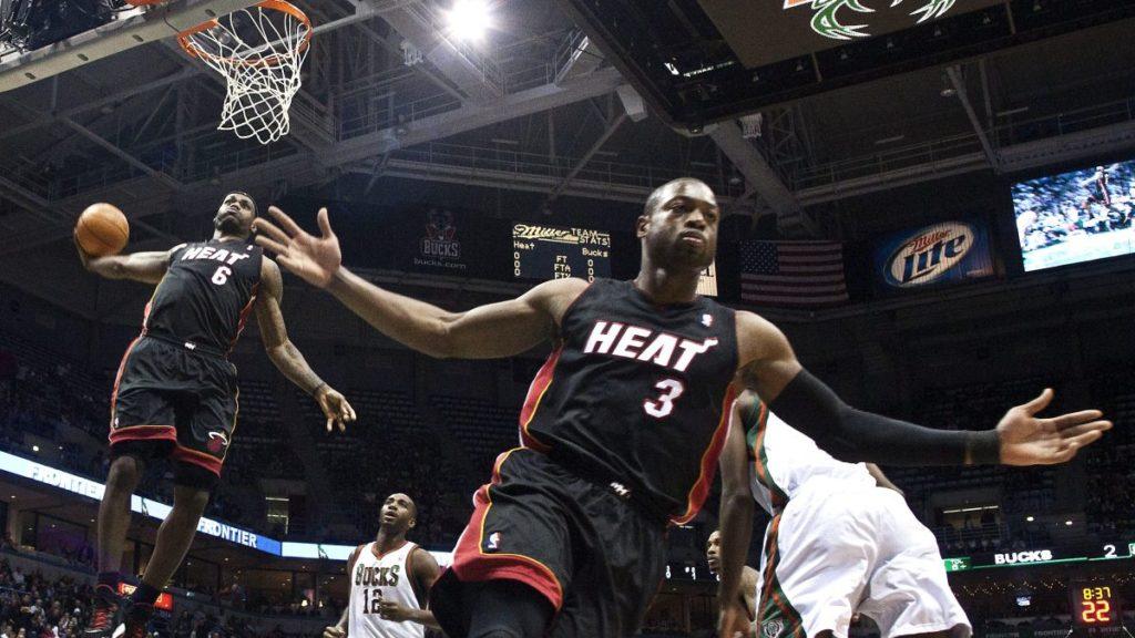 Dwyane Wade carrière NBA Heat Cavaliers
