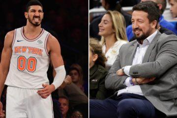 Enes Kanter, craignant pour sa vie, n'ira pas à Londres avec les Knicks. Une décision qui ne plait pas à Hedo Turkoglu...