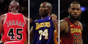 NBA – Depuis 1980 : 39 finales, dont 37 avec l'un de ces 7 joueurs