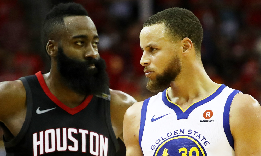 Stephen Curry James Harden 3-points