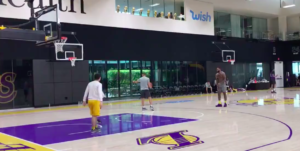 NBA – Une vidéo de LeBron James à l'entrainement, ça carbure !
