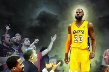 LeBron James blessure théories