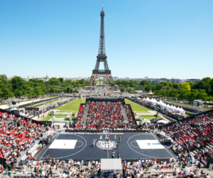 Match NBA à Paris France