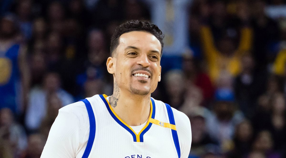 Matt Barnes banc Warriors