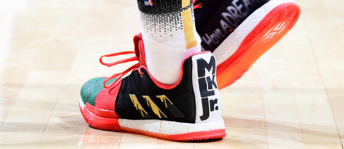 2803bd0d6bc7 NBA - Top 10 des sneakers portées pour le MLK Day 2019