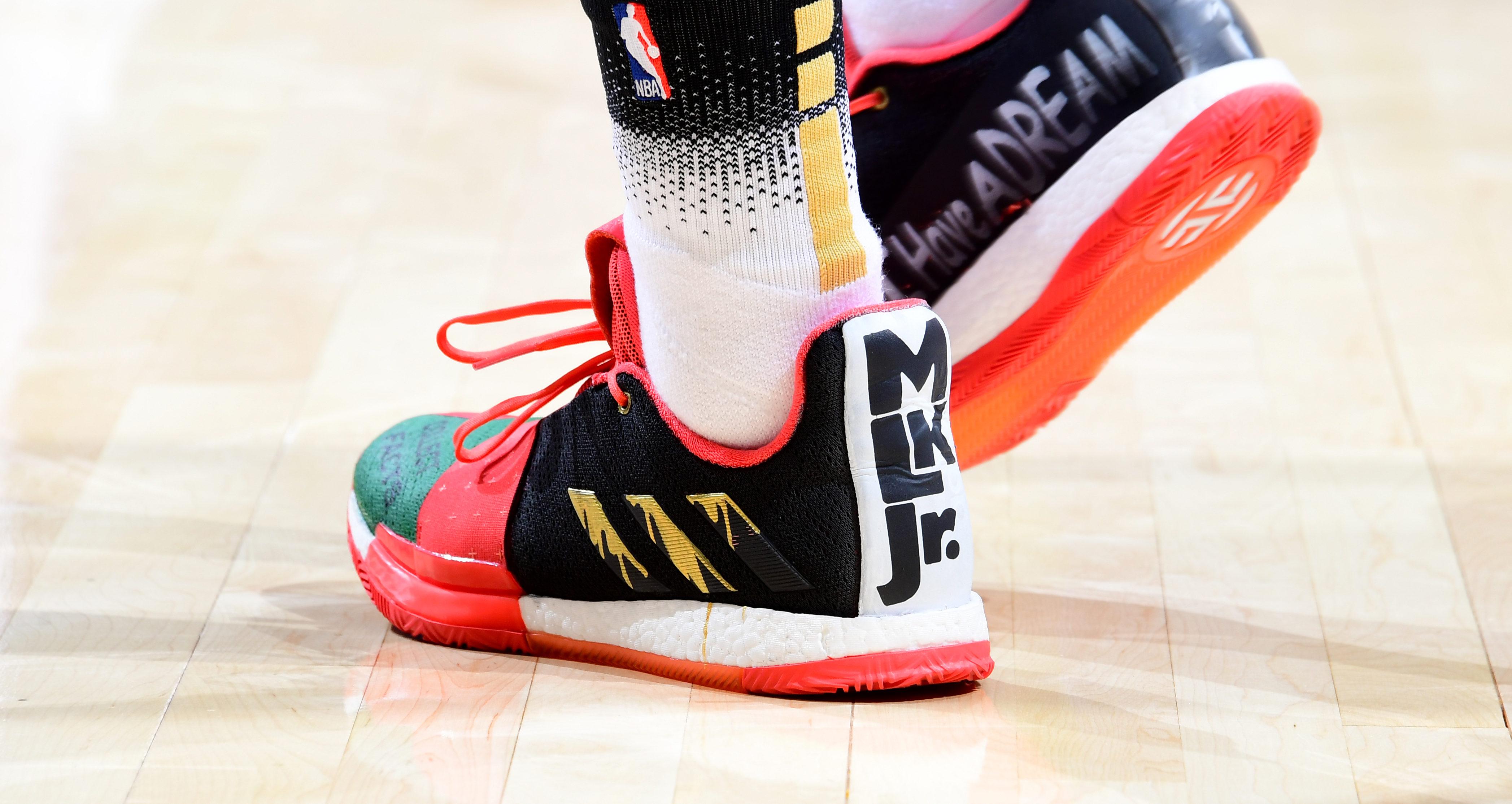 buy online 4c709 94b29 NBA - Top 10 des sneakers portées pour le MLK Day 2019