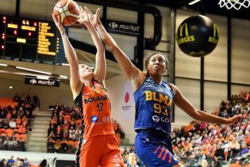 montpellier Bourges LFB leader