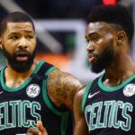 NBA – Tensions apaisées entre Jaylen Brown et Marcus Morris