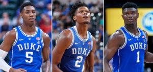 NCAA – Zion blessé, R.J. Barrett et Cam Reddish se distinguent !