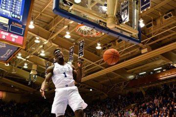 Zion Williamson 360 dunk