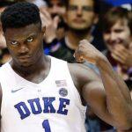 NCAA – Zion Williamson seul dans les livres d'histoire