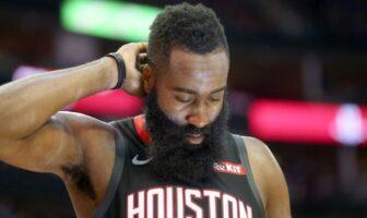 Fin de série pour James Harden des Rockets