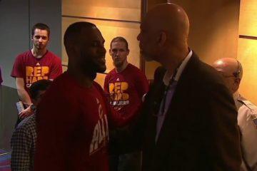 leBron James s'est montré très touché par un article écrit par Kareem Abdul-Jabbar à son sujet