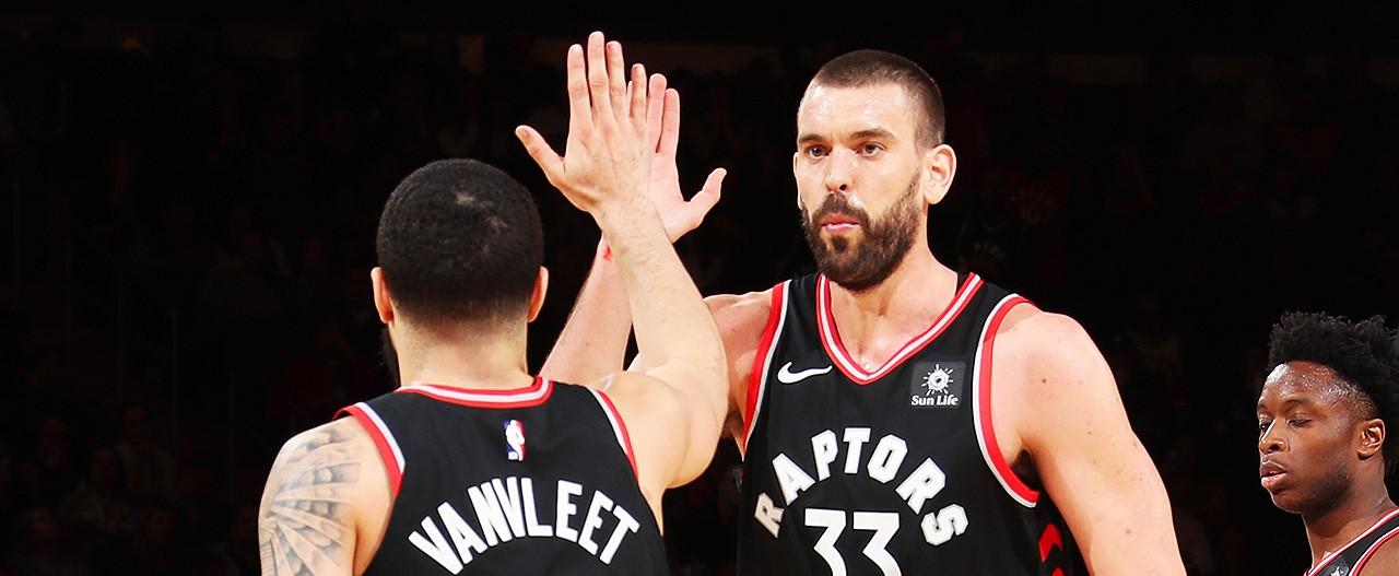 Marc Gasol a été très surpris par le nombre de fans des Raptors présents cette nuit au Madison Square Garden