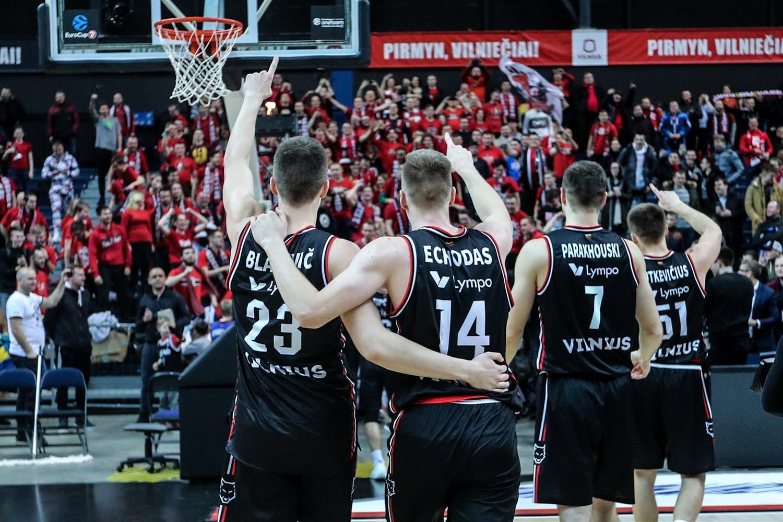 Les lituaniens de Vilnius peuvent fêter leur qualification