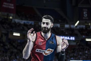 Le capitaine de l'équipe basque ratera le reste de la saison régulière d'Euroleague