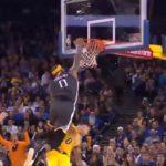 NBA – Le poster monstrueux de DeMarcus Cousins sur Kyle Kuzma !