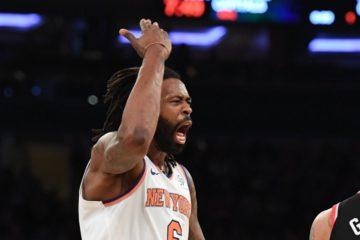 DeAndre Jordan sous le mailot des Knicks