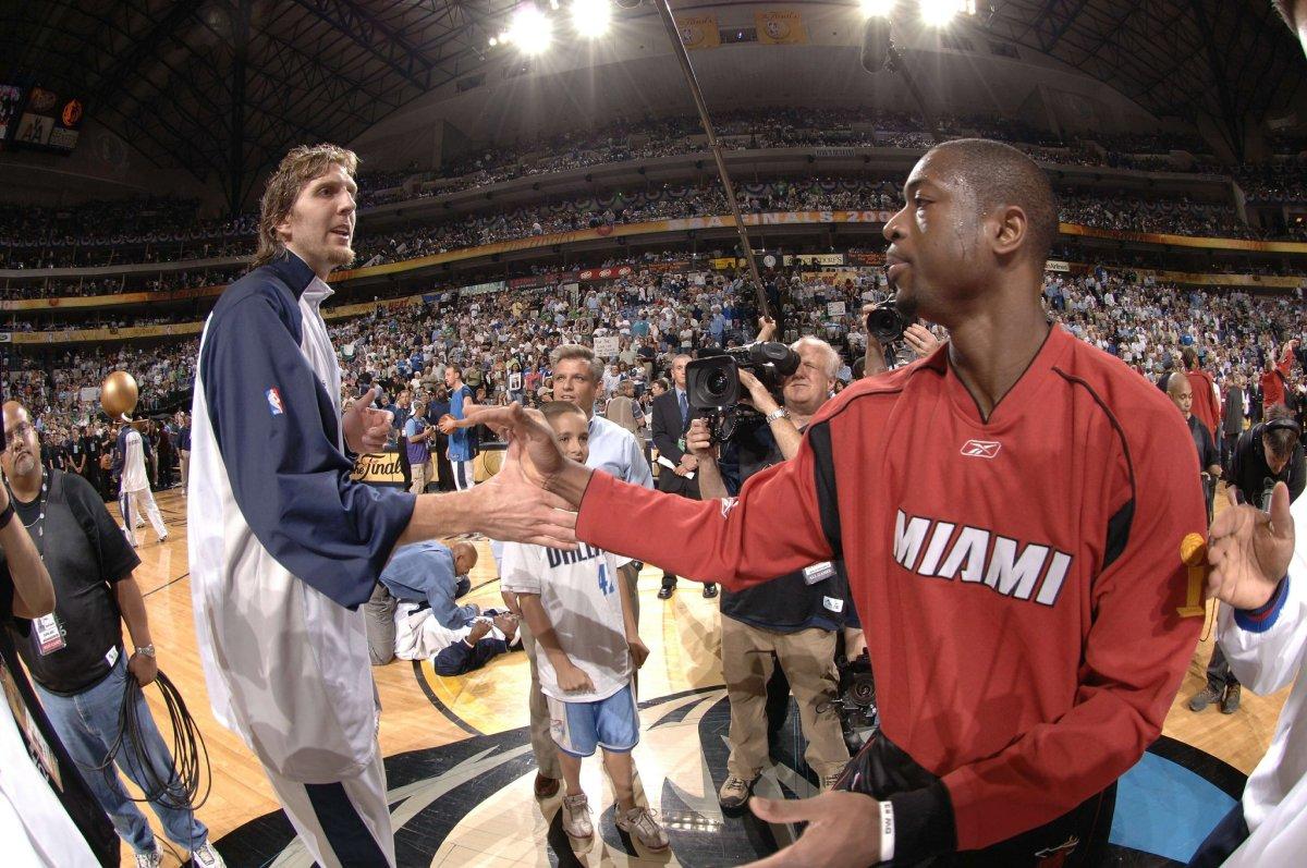 Dirk Nowitzki et Dwyane Wade au All-Star Game !