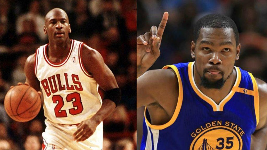 Kevin Durant Michael Jordan