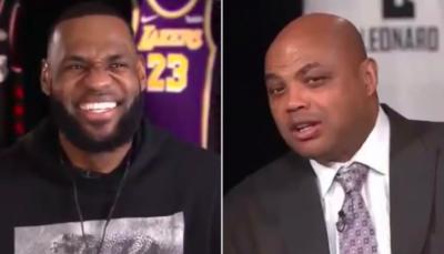 NBA – Charles Barkley lâche un nouveau gros tacle capillaire sur LeBron