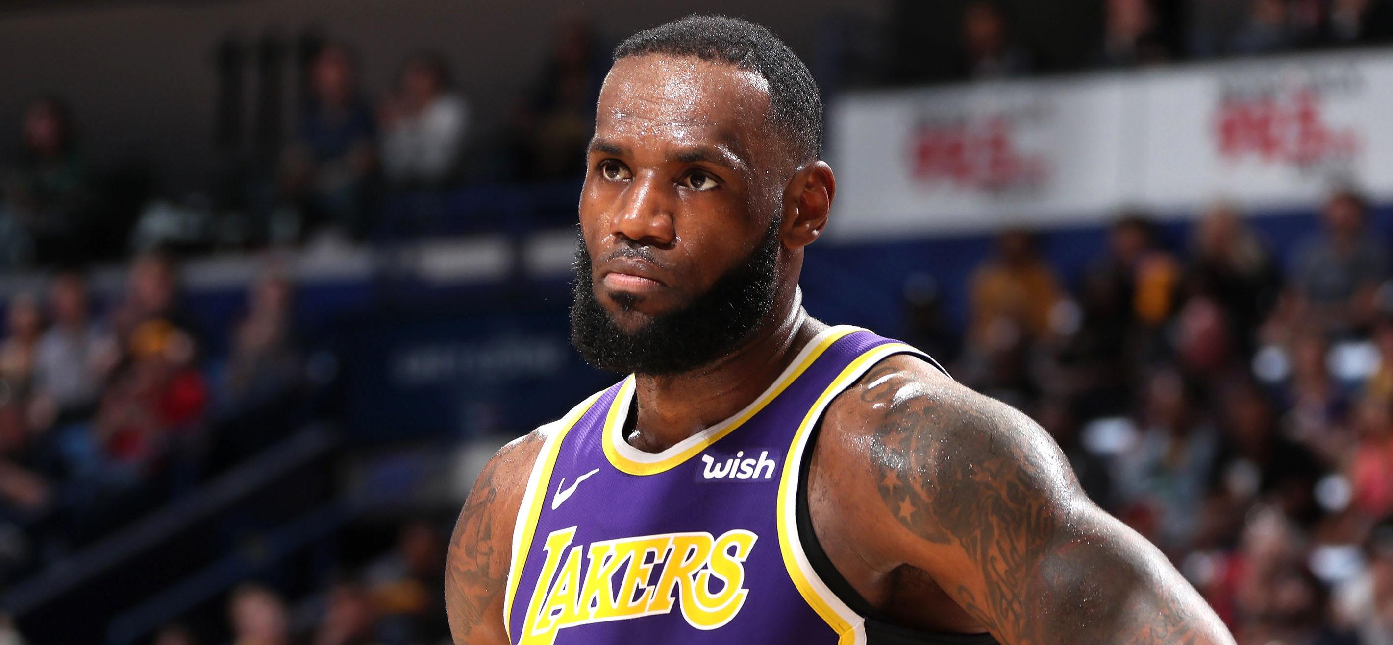 LeBron James s'est exprimé sur la fin de saison des Lakers