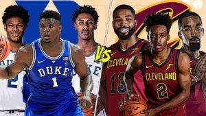 NBA (simulation) – Duke face aux Cavs, qui l'emporte ?