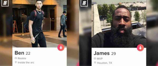 NBA joueurs tinder sexe