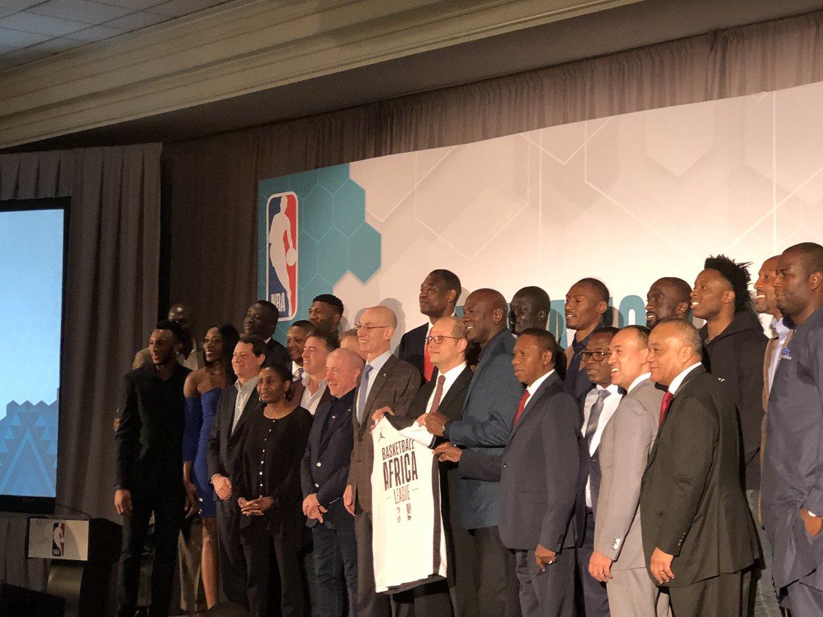b4ce0cda6f9b4 NBA FIBA - Adam Silver annonce le lancement d une ligue en Afrique !