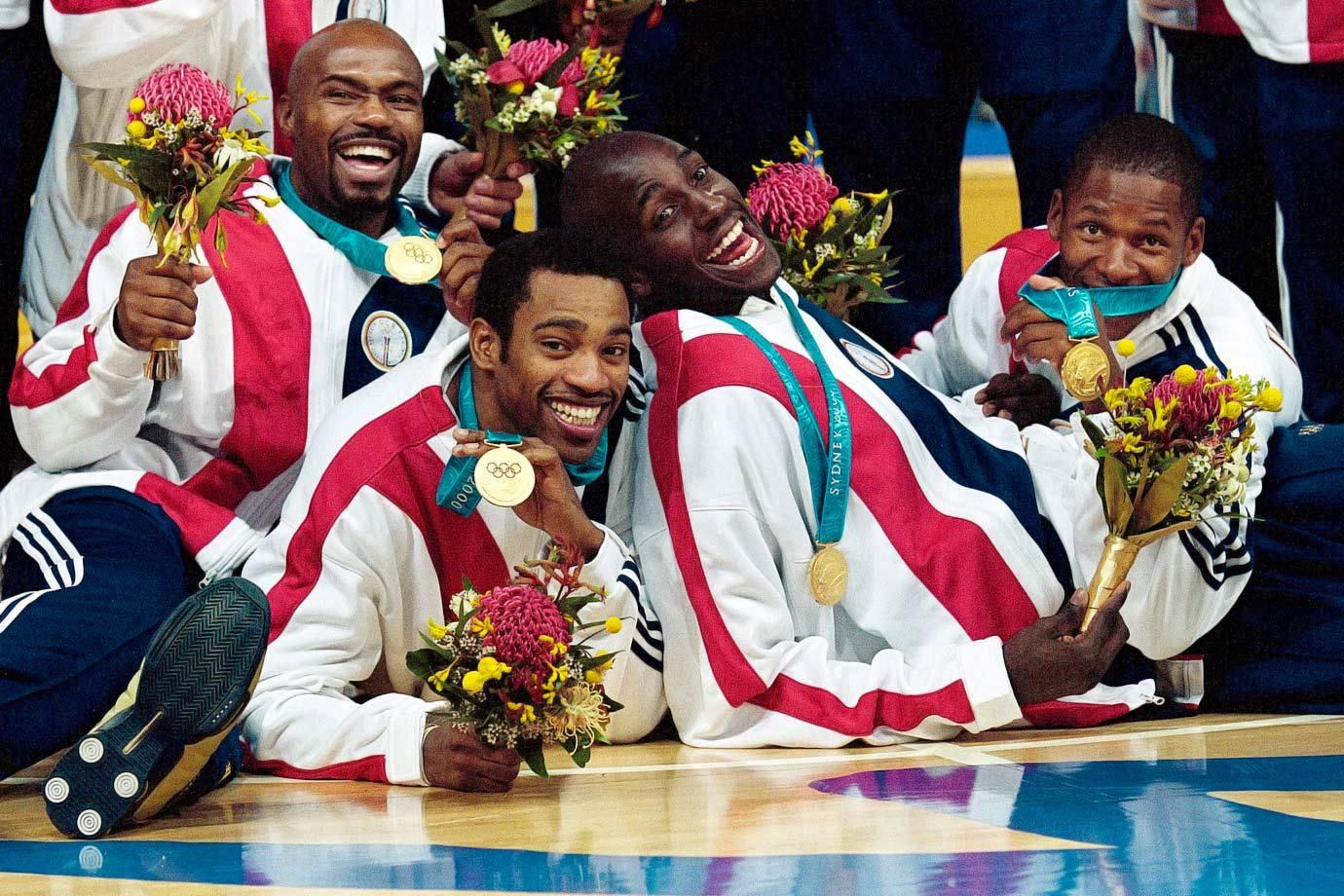 La Team USA, médaille d'or aux JO de 2000