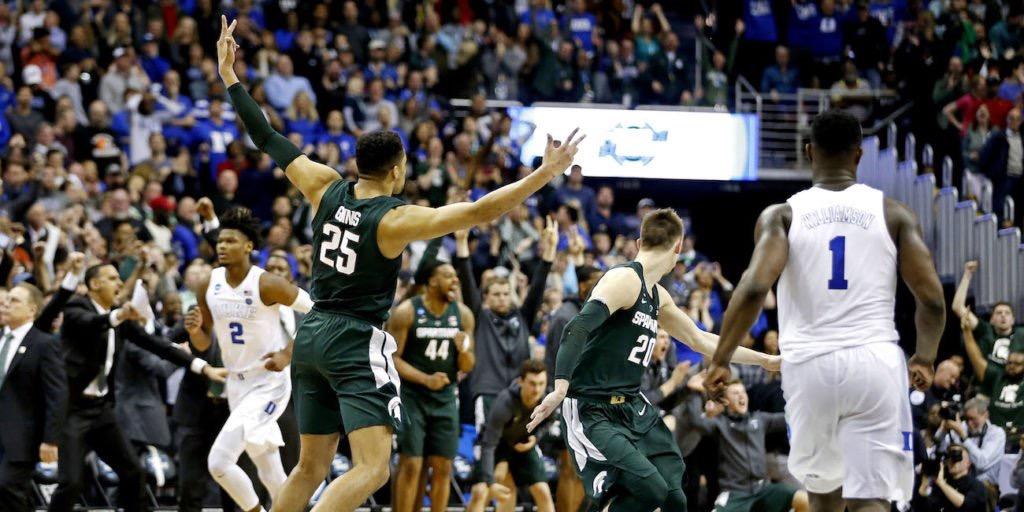 Duke est tombé face à Michigan State