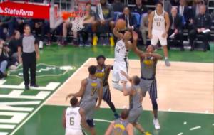 NBA – Top 5 : Giannis s'envole dans la défense des Pacers !