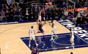 NBA – Top 5 : KAT s'envole sur Kevin Durant !