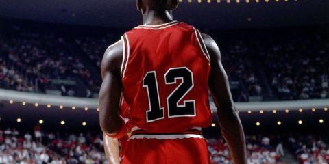 Michael Jordan avec le numéro 12