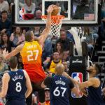 NBA – Les Français de la nuit : Le Jazz de Rudy Gobert s'impose sans forcer